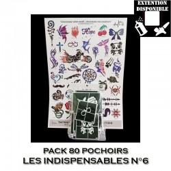 Pack 80 pochoirs Les Indispensables 6