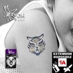 Pochoir Tatouage Temporaire SE Tigre 001