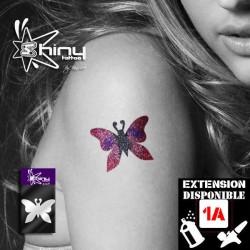 Pochoir Tatouage Temporaire SE Papillon 002