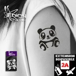 Pochoir Tatouage Temporaire SE Panda 001