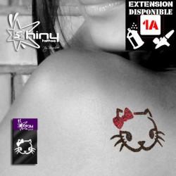 Pochoir Tatouage Temporaire SE Chat 004