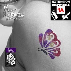 Pochoir Tatouage Temporaire SE Papillon 008