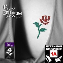 Pochoir Tatouage Temporaire SE Rose 001