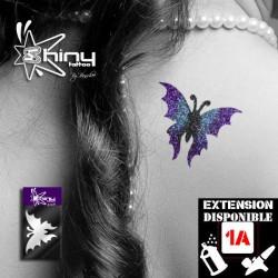 Pochoir Tatouage Temporaire SE Papillon 004