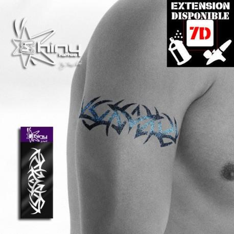Pochoir Tatouage Temporaire SE Bracelet 006 XL