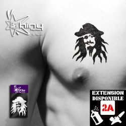 Pochoir Tatouage Temporaire SE Pirate 001