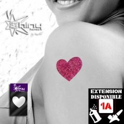 Pochoir Tatouage Temporaire SE Coeur 006