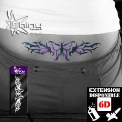 Pochoir Tatouage Temporaire SE Bas dos Papillon 002