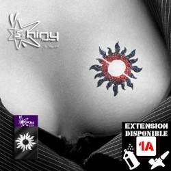 Pochoir Tatouage Temporaire SE Soleil 002