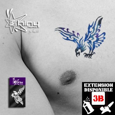 Pochoir Tatouage Temporaire SE Aigle 002
