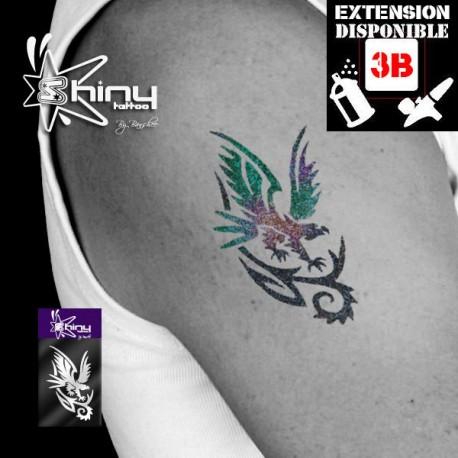 Pochoir Tatouage Temporaire SE Aigle 004
