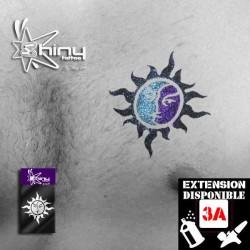 Pochoir Tatouage Temporaire SE Soleil  005