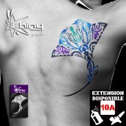 Pochoir Tatouage Temporaire SE Manta 001 XL