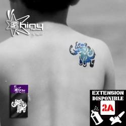 Pochoir Tatouage Temporaire SE Elephant 002