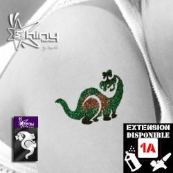 Pochoir Tatouage Temporaire SE Dinosaure 001