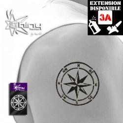 Pochoir Tatouage Temporaire SE Symbole  018