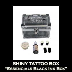 SHINY TATTOO BOX Essencials Black Ink Box