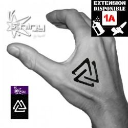 Pochoir Tatouage Temporaire SE Géométrique 001