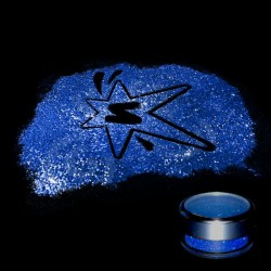 Paillettes Fines Bleu foncé 5gr