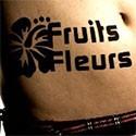 Fleurs, Arbres et Fruits